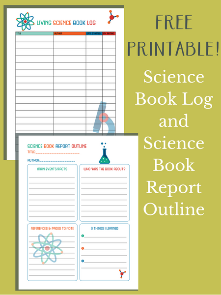 Science Book Log and Science Book Report Outline | Everyday Graces