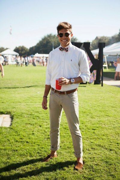 Groomsmen Outfit For The Beach Wedding Plus Suspenders