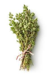 Thyme is one of the herbs used in Red Pepper Herb Crackers.