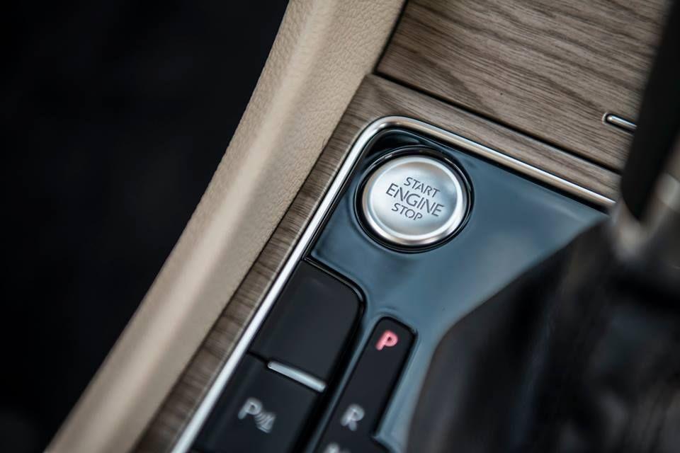 Przycisk, który uwalnia wszystkie emocje. #VW #Passat