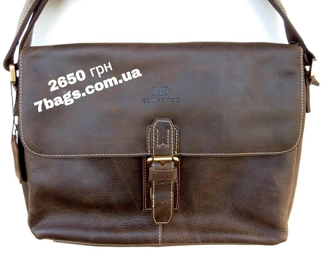 a56c12ff6e66 Мужская сумка мессенджер (на плечо) из лошадиной кожи - 2650 грн. Модель  JD7084R