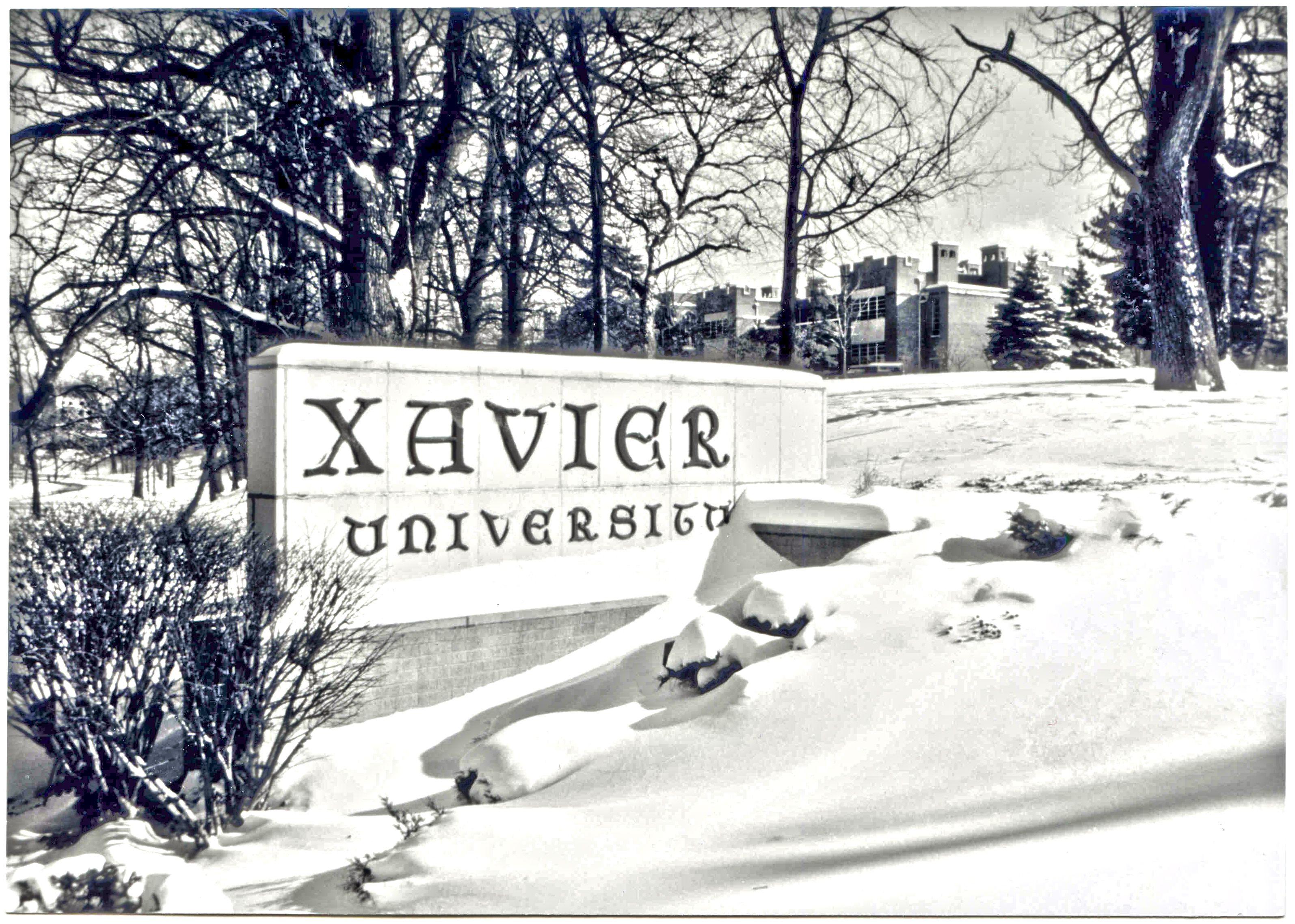 Xavier South Entrance