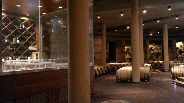 The oak barrel #cellar of Le Mortelle in #Maremma. Read more at  & The oak barrel #cellar of Le Mortelle in #Maremma. Read more at http ...