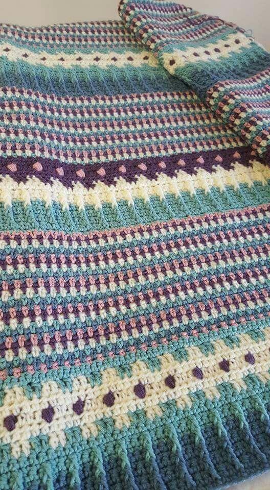 Pin von Sonngard Reichle auf crochet blankets | Häkeln, Stricken und ...