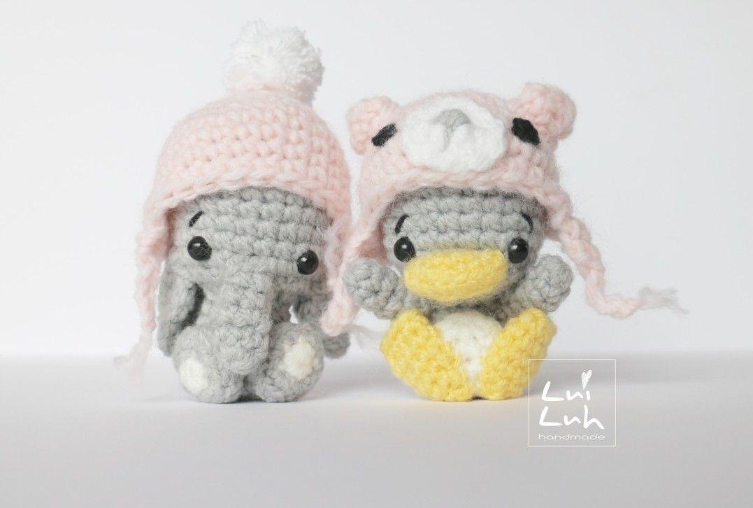 Amigurumi Free Pattern Häkeln Pinterest Wollmütze Pinguine