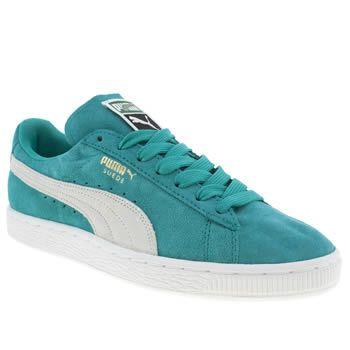 get cheap 47470 ada99 Women's Green Puma Suede Classic Iii at schuh | Turquoise ...