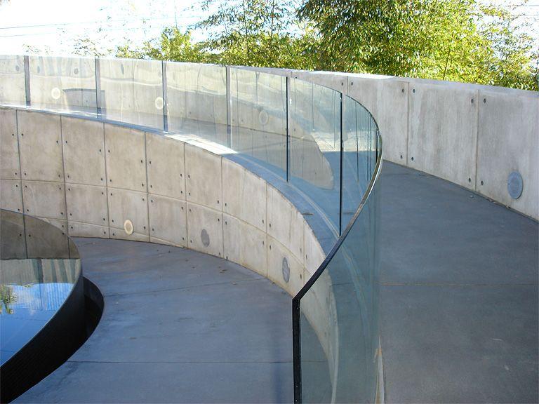 Best Glass Railings Bent And Segmented Glass Railings Image 400 x 300