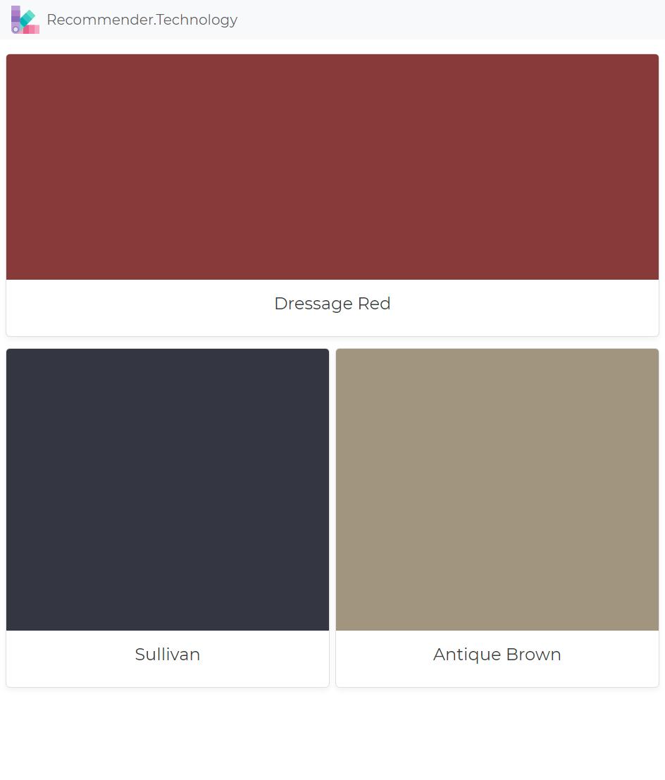 Dressage Red Sullivan Antique Brown Ralph Lauren Paint Colors Color Palettes