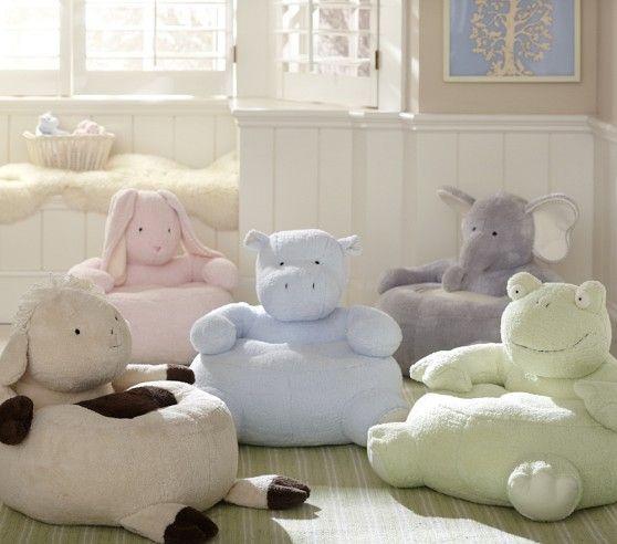 Hippo Furniture | Hippo Critter Chair | Pottery Barn Kids