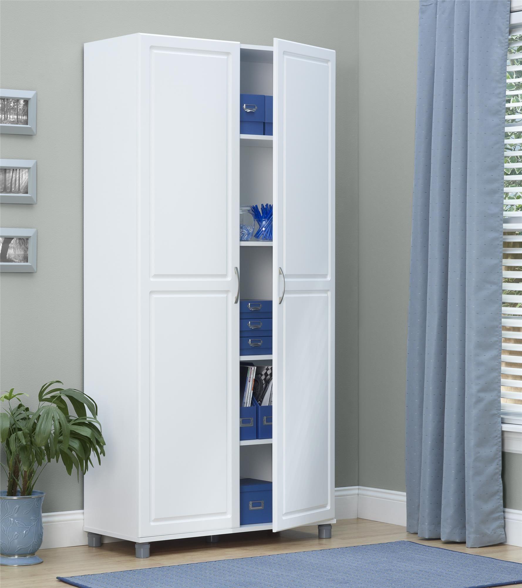 Utility Storage Cabinet White & Utility Storage Cabinet White | http:/ulgamaisweb.com ...