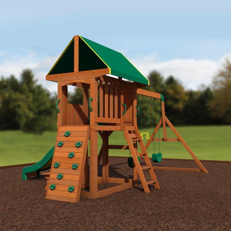 Cedar Swing Sets, Wood Swing
