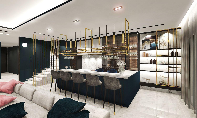 Modern Contemporary Residential Design Bar Bar Design Residential Design Modern Bar