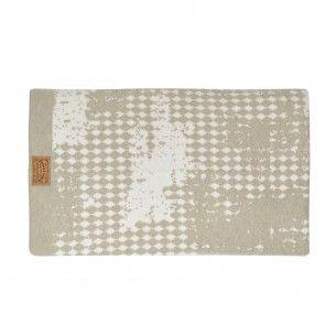 Stamp Decke Taupe Deckchen Kissenbezuge