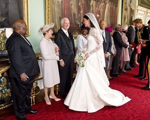 Prince William And Kate Royal Wedding Reception The