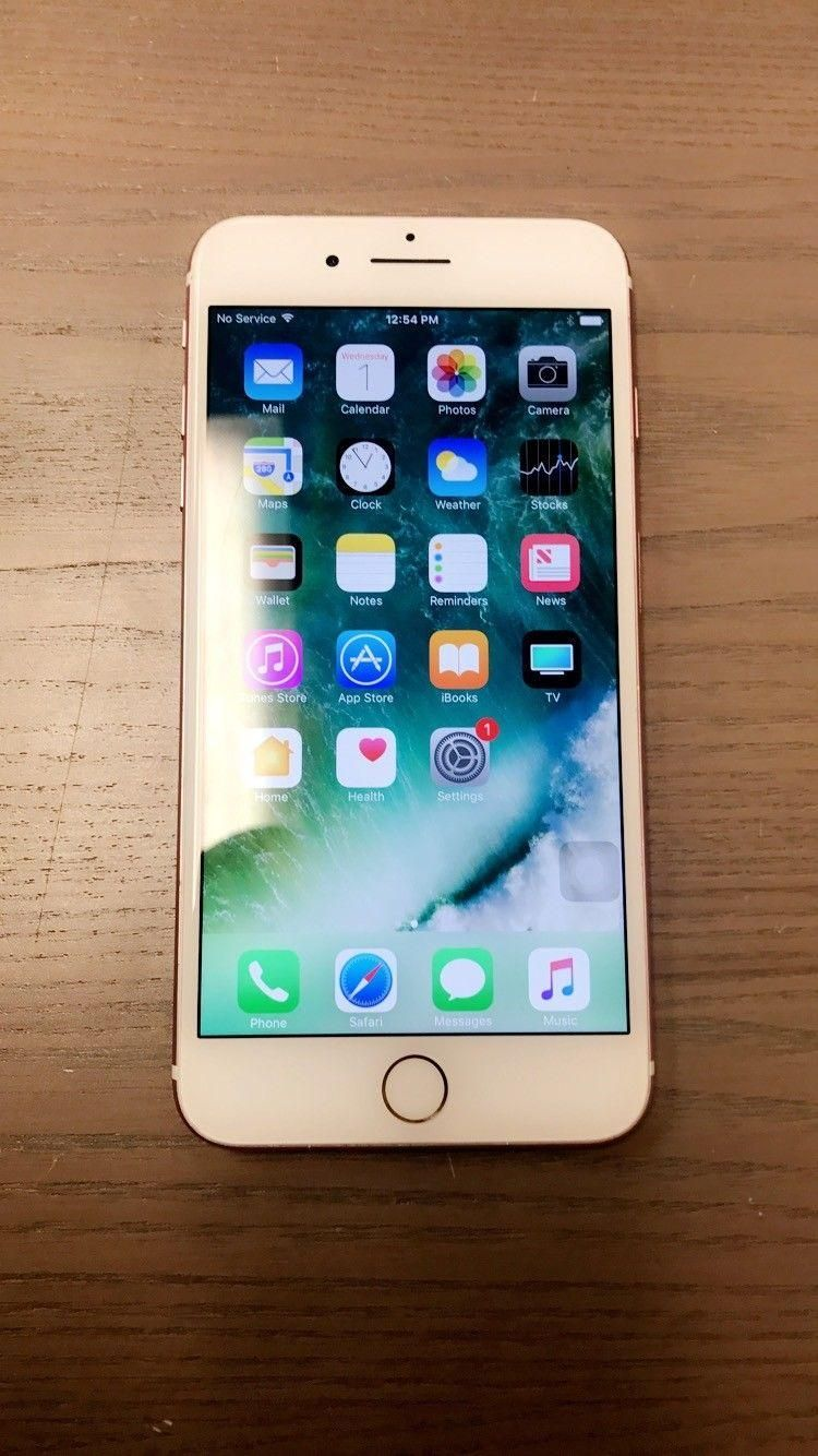 Iphone Apple Ios Apple Iphone 7 Plus 32gb Rose Gold Unlocked