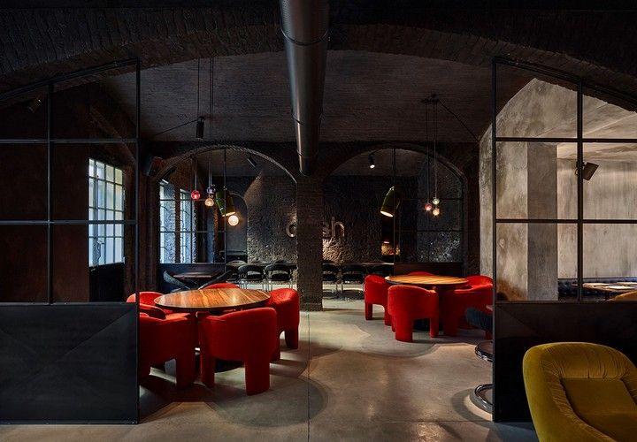 Stunning Modern Decor Ideas From Italian Restaurants X Cafe