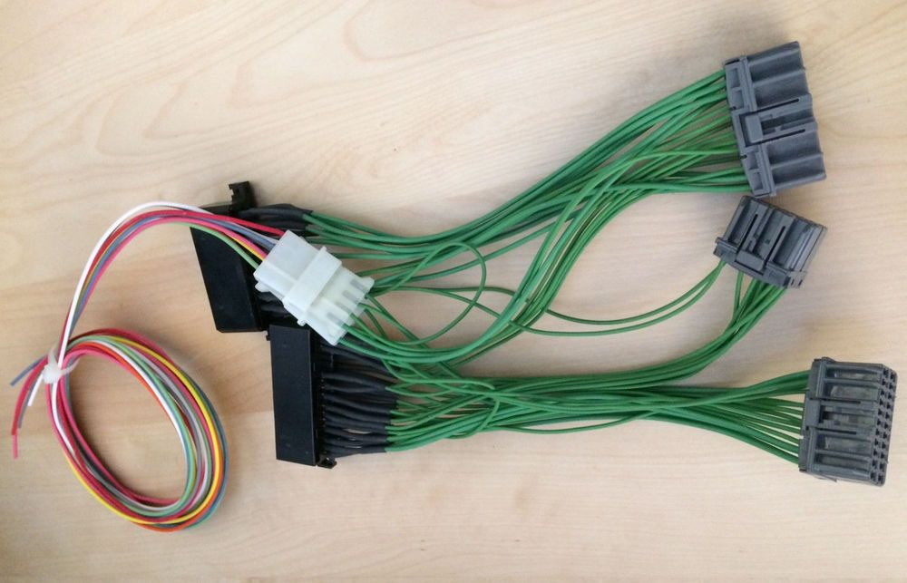 OBD0 to OBD1 ECU Conversion Jumper Wiring Wire Harness Honda ... Obd Wire Harness on obd2 wire harness, ford wire harness, automobile wire harness, obd2b wire harness, bosch wire harness, engine wire harness, crx wire harness, vtec wire harness, 2jz wire harness, honda wire harness,