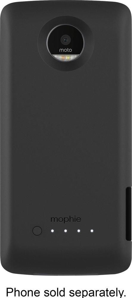 new style a7e84 2c721 mophie - juice pack External Battery Case for Motorola Moto Z Droid ...