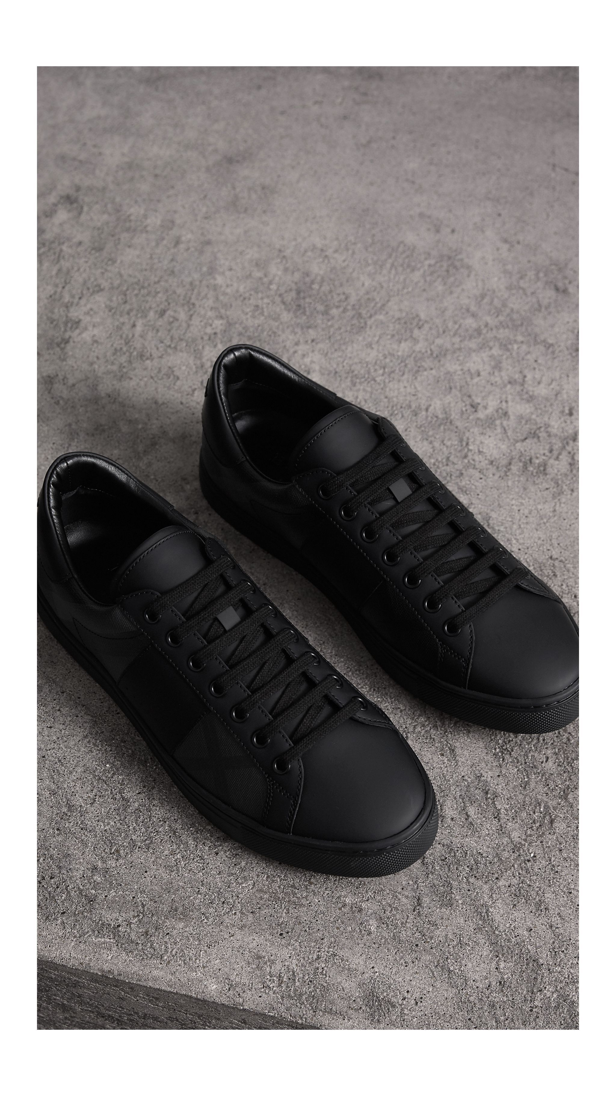Gentleman shoes, Leather sneakers