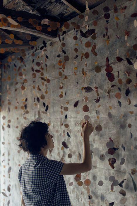 田中亮平 / G architects studioによる「葉っぱの涼屋」