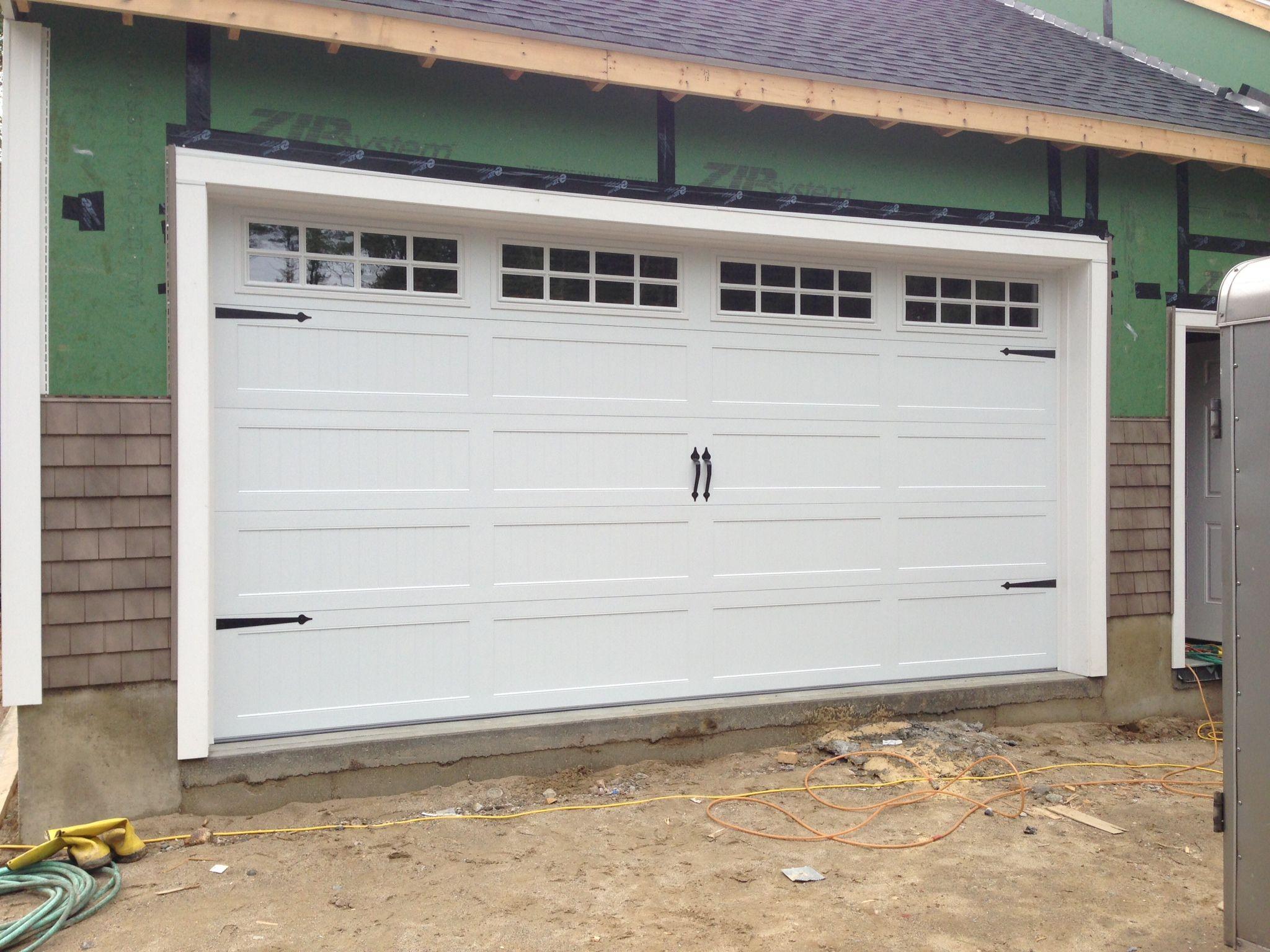 C H I Overhead Doors Model 5916 Long Panel Steel Carriage House