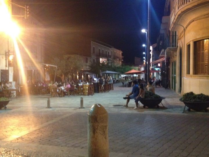 Plaça Major en Ses Salines, Islas Baleares