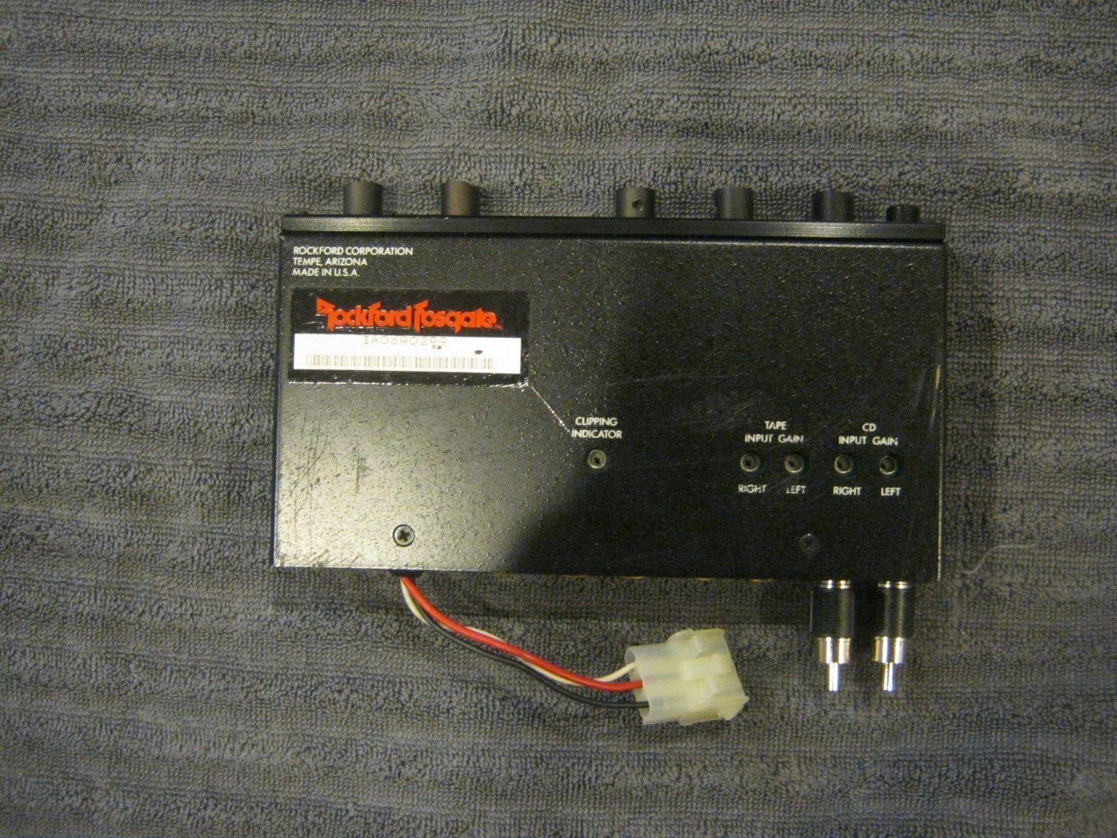 47d3c2bd4d60e54fdc1c8af076ada6eb rockford fosgate old school amps*** (1) mosfet 650 & (3) punch 150