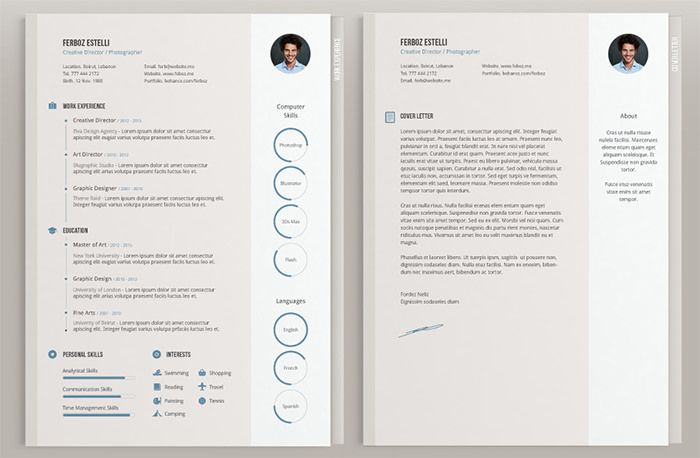 Beautiful Resume Templates 30 Free & Beautiful Resume Templates To Download  Template And Cv