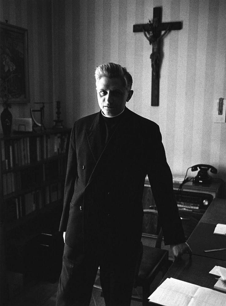 Future Pope Benedict XVI