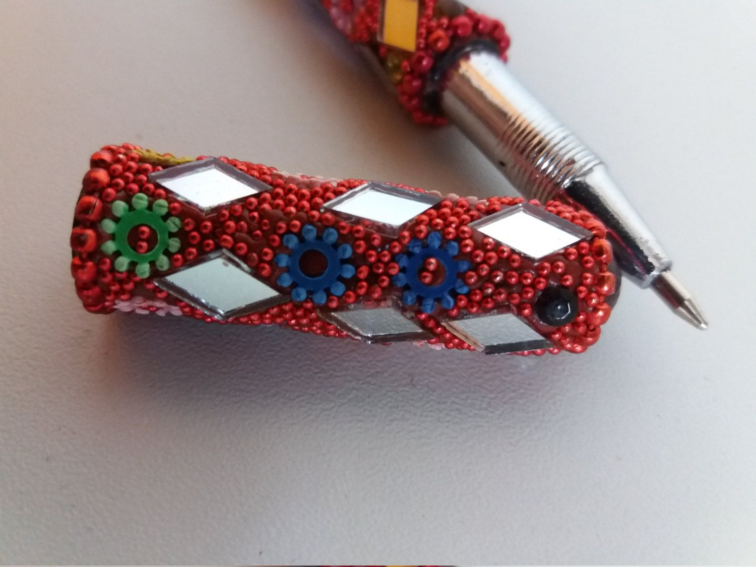 Unique handmade pen (gift) by UniqsGoods on Etsy