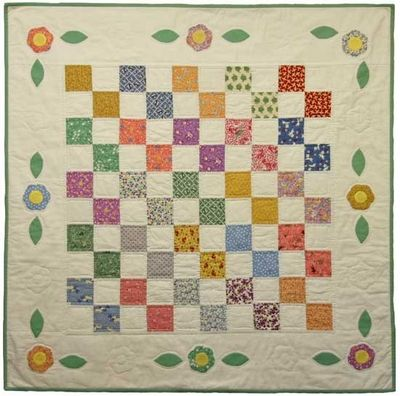 Pretty as a Posie Quilt Kit | 1930's Reproduction Quilt Fabric ... : reproduction quilt kits - Adamdwight.com