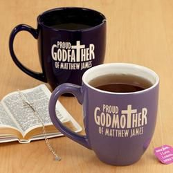 Personalized Proud Godparent Mug $16.99 | Christmas Fun | Pinterest ...