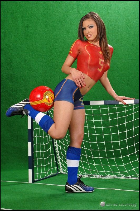 Hot Nude Blonde Soccer Girls Png