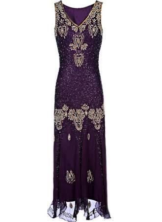 purple 20s dress - Google Search