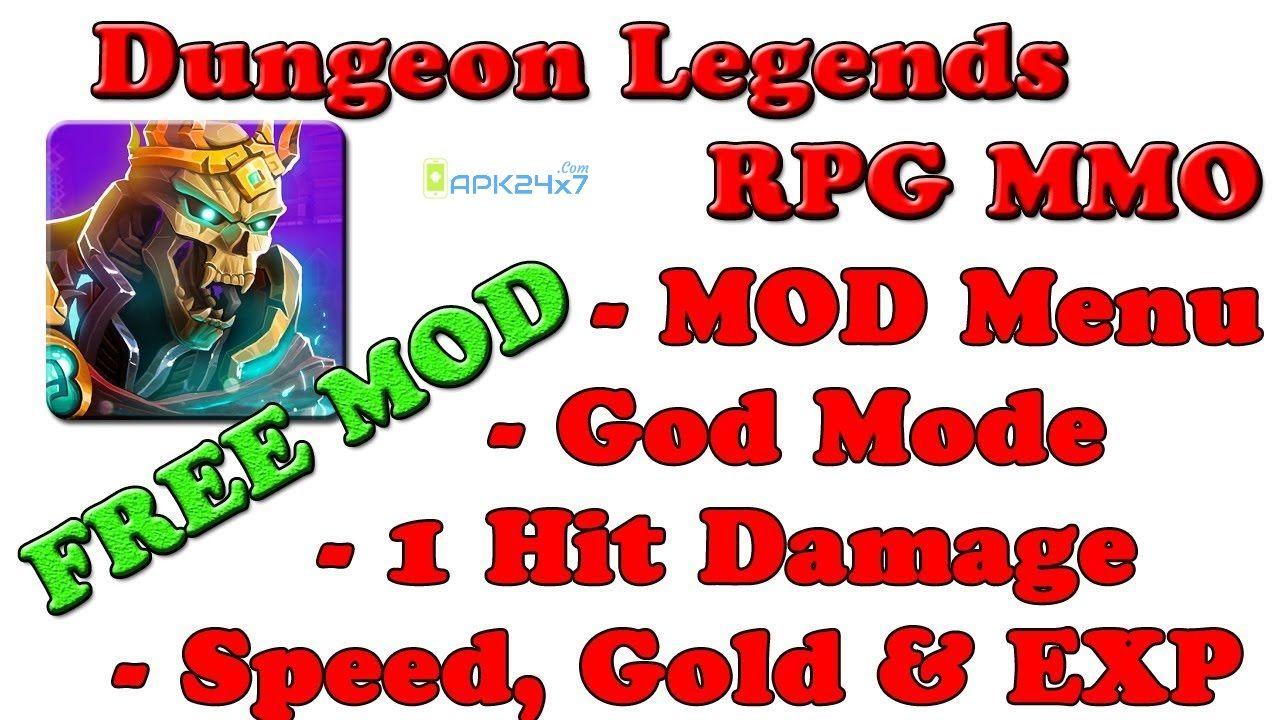 Dungeon Legends v2.52 Mega Mod APK Dungeon, Legend, The