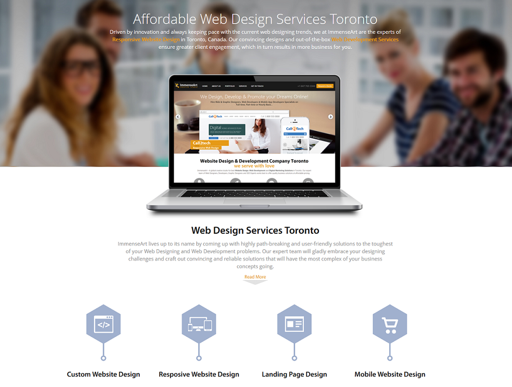 Immense Art Is A Affordable Web Design Company Based In Toronto Canada Specialize In Web Design Logo Desig Web Design Web Design Agency Website Design