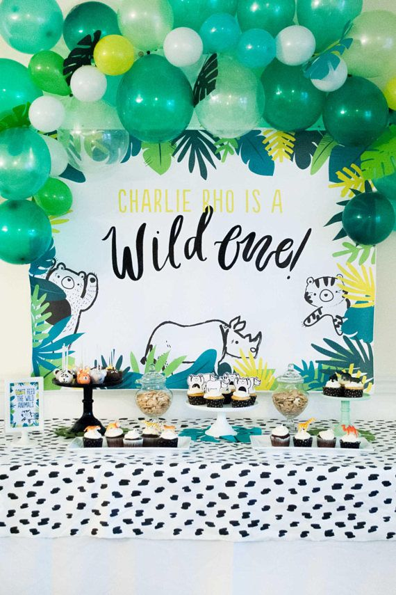 Balloon Garland Kit In The Jungle Shades Of Green