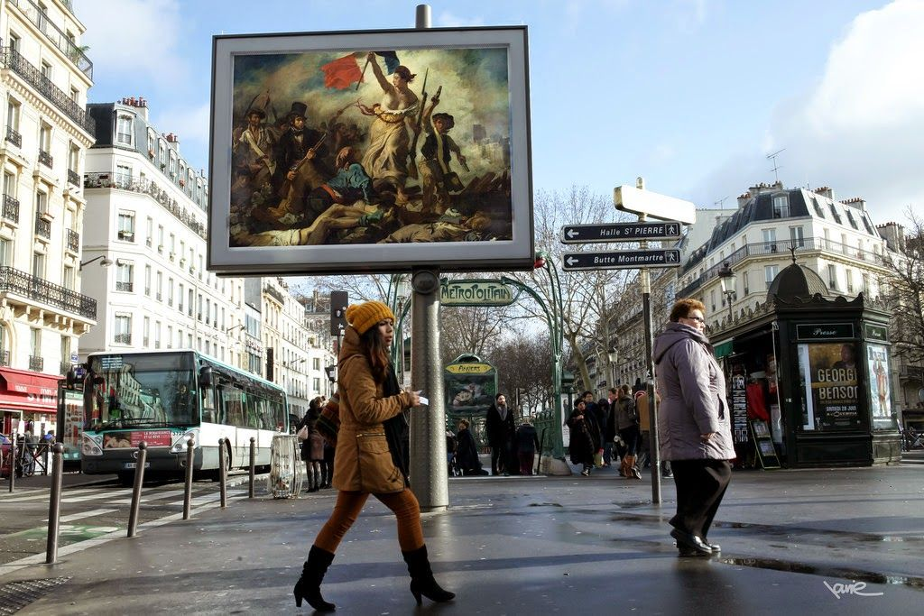 Street Artists: ETIENNE LAVIE. Classic Artworks on the Streets