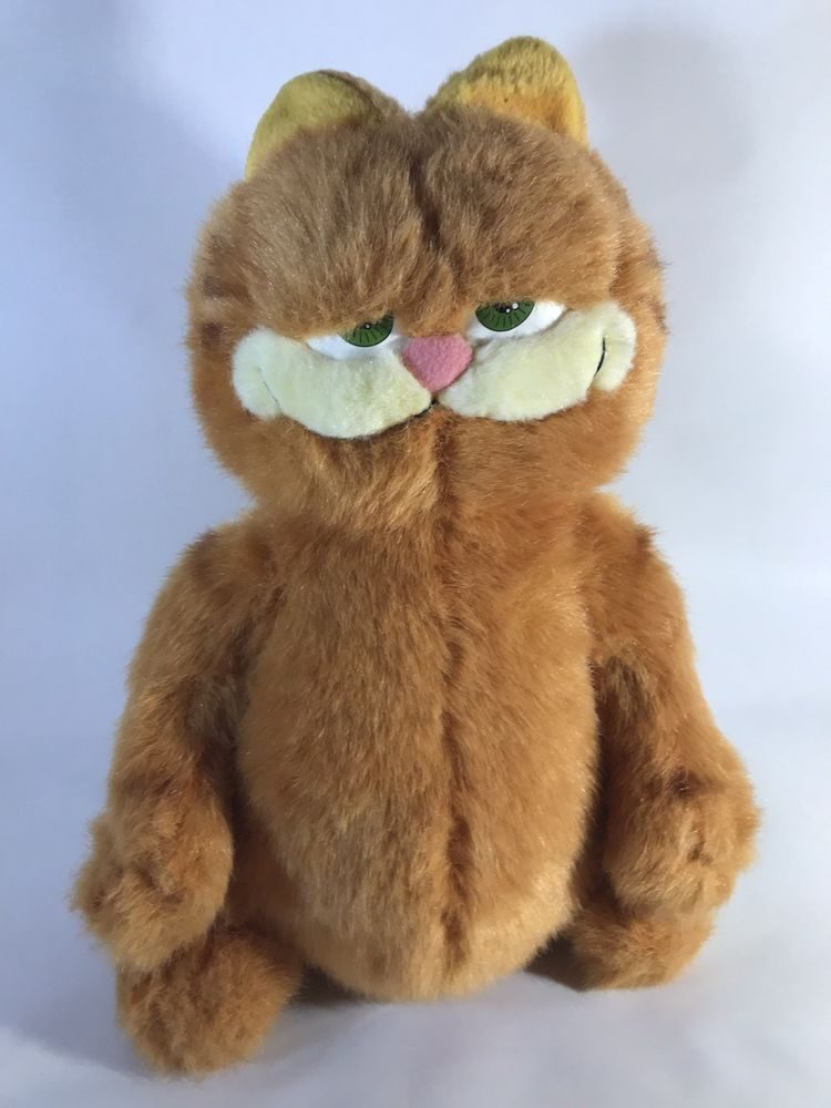 Official Garfield The Movie Plush Soft Toy 2004 Large 14 Vgc Ebay Garfield The Movie Toys Soft Toy