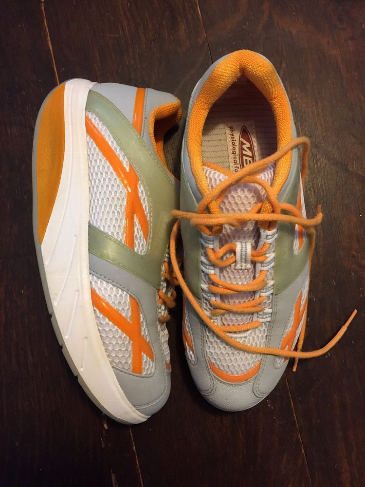 6601de29ba9e MBT M. Walk physiological footwear orange and gray sneakers Size 9.5   fashion  clothing  shoes  accessories  womensshoes  athleticshoes (ebay  link)