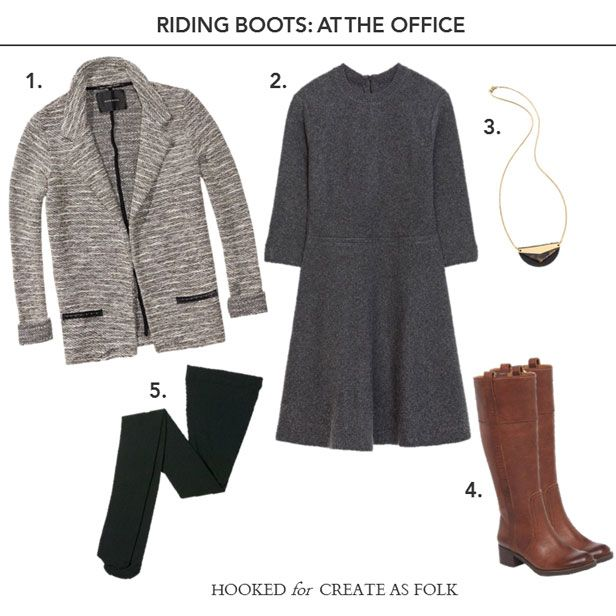 Riding Boots At The Office How To