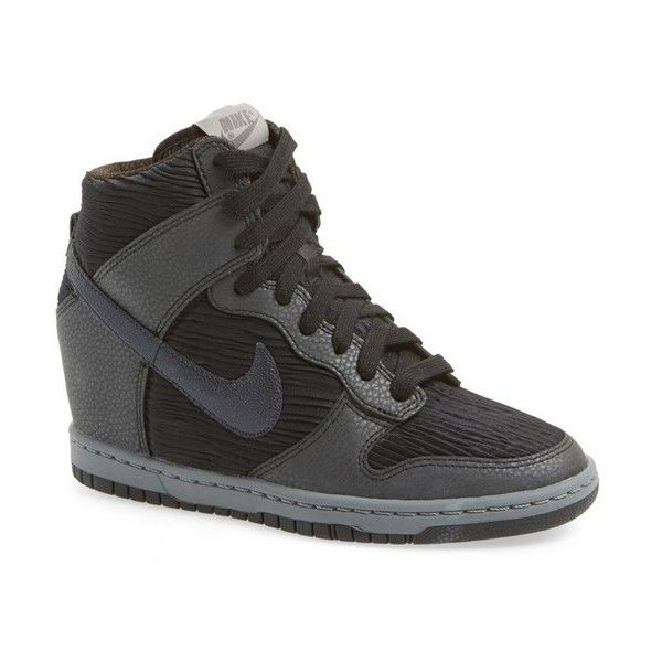 Nike Wedge High Heel Sneakers