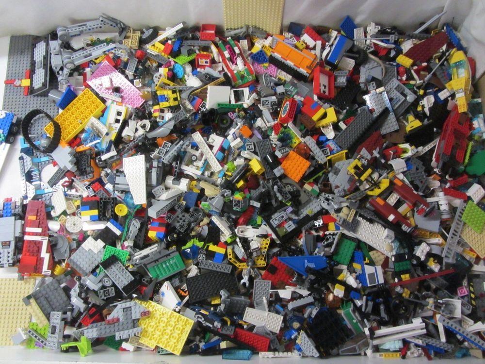 Lego 47 Pounds LBS Parts /& Pieces HUGE BULK LOT bricks blocks pound city town