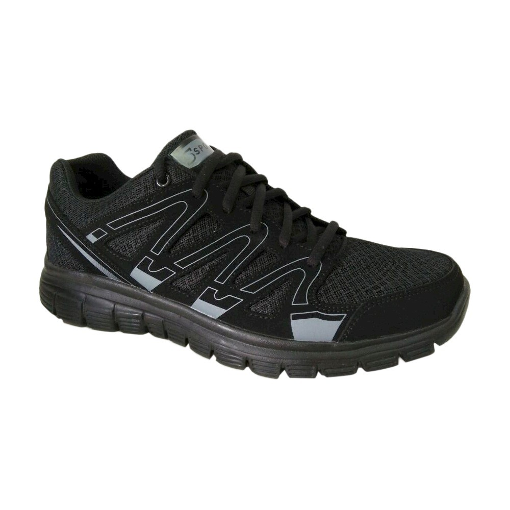 0be89fe4d Men s S Sport By Skechers Striker Performance Athletic Shoes Black 12 - C9  Champion