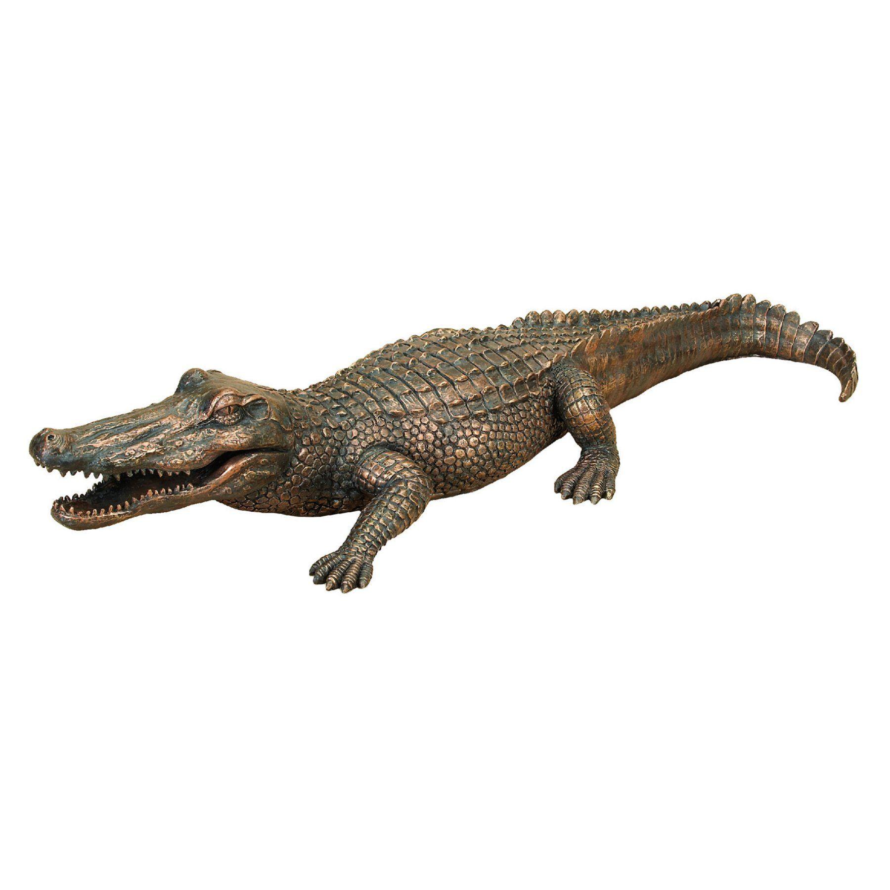 DecMode Alligator Garden Sculpture   75442