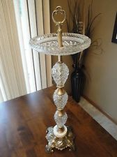 Details About Vintage Racing Horse Smoke Stand Floor