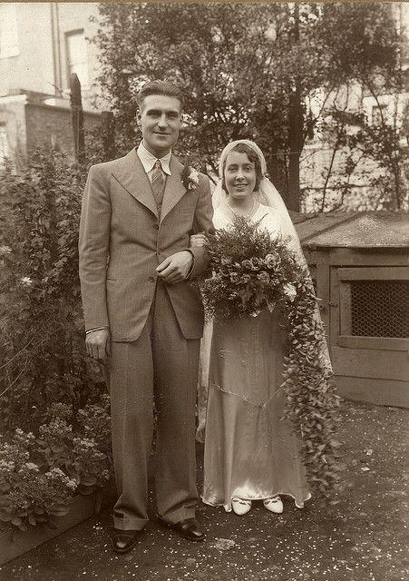 All sizes | Happy 1930s wedding | | A Vintage Wedding | Pinterest ...