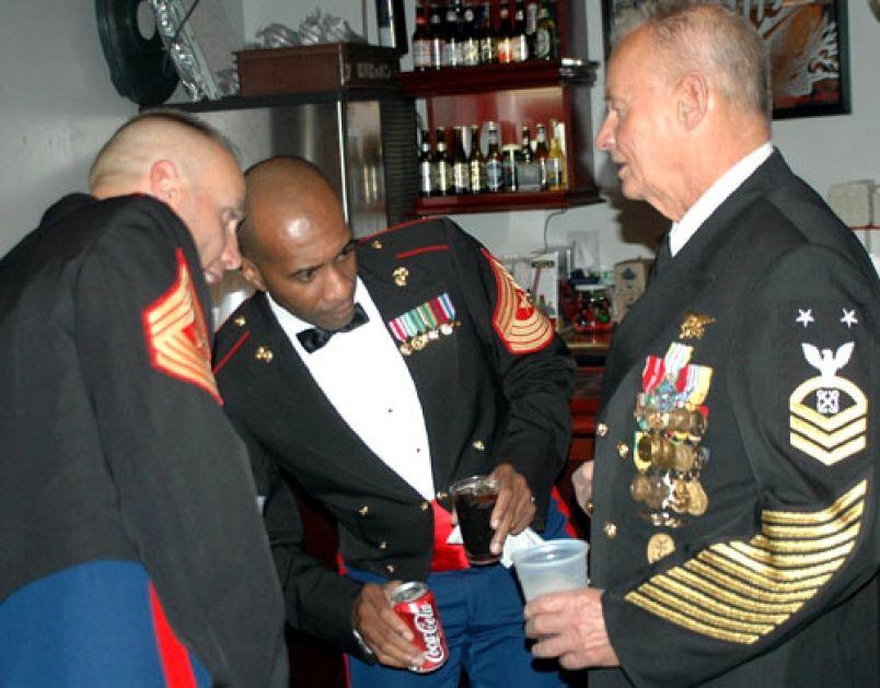 Navy service dress white seal