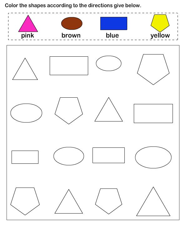 shapes math worksheets preschool worksheets educational worksheets for kids pinterest. Black Bedroom Furniture Sets. Home Design Ideas