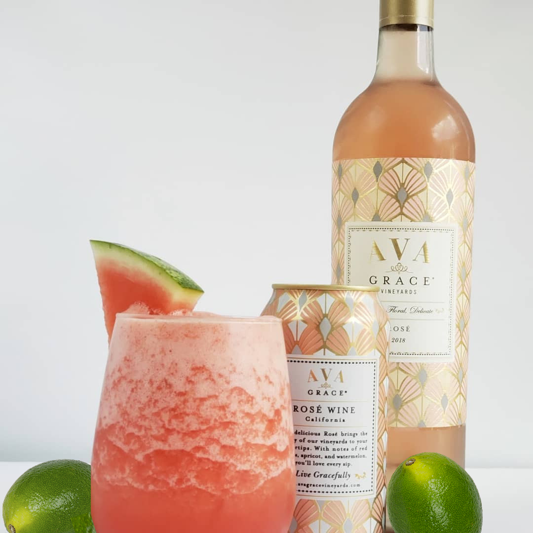 Two Rosé Wine Recipes We're Obsessed With - Ava Grace Vineyards in 2020 |  Rose wine recipes, Wine recipes, Rose wine